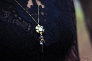 watch necklace